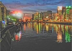 那珂川沿いの写真です