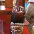 屋台もりのビール