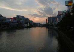 那珂川沿い・2013年7月