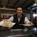もりさんと天ぷら盛り合わせ