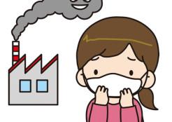 大気汚染とマスク