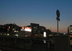 福岡・那珂川沿い「中洲懸橋の手前」