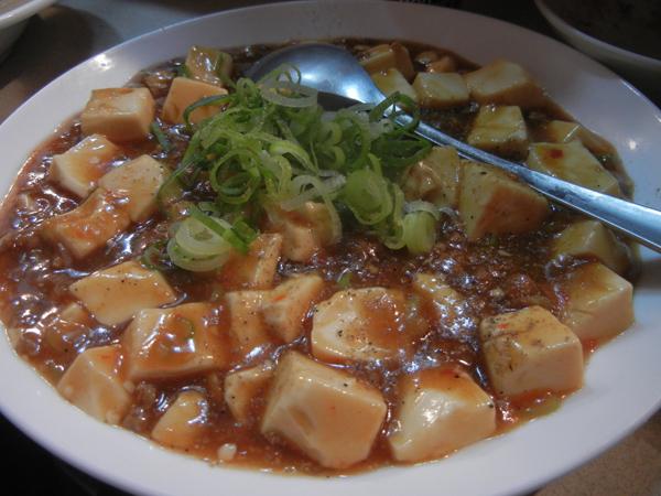 宗の麻婆豆腐