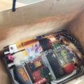 UberEats福岡の料理が届いた
